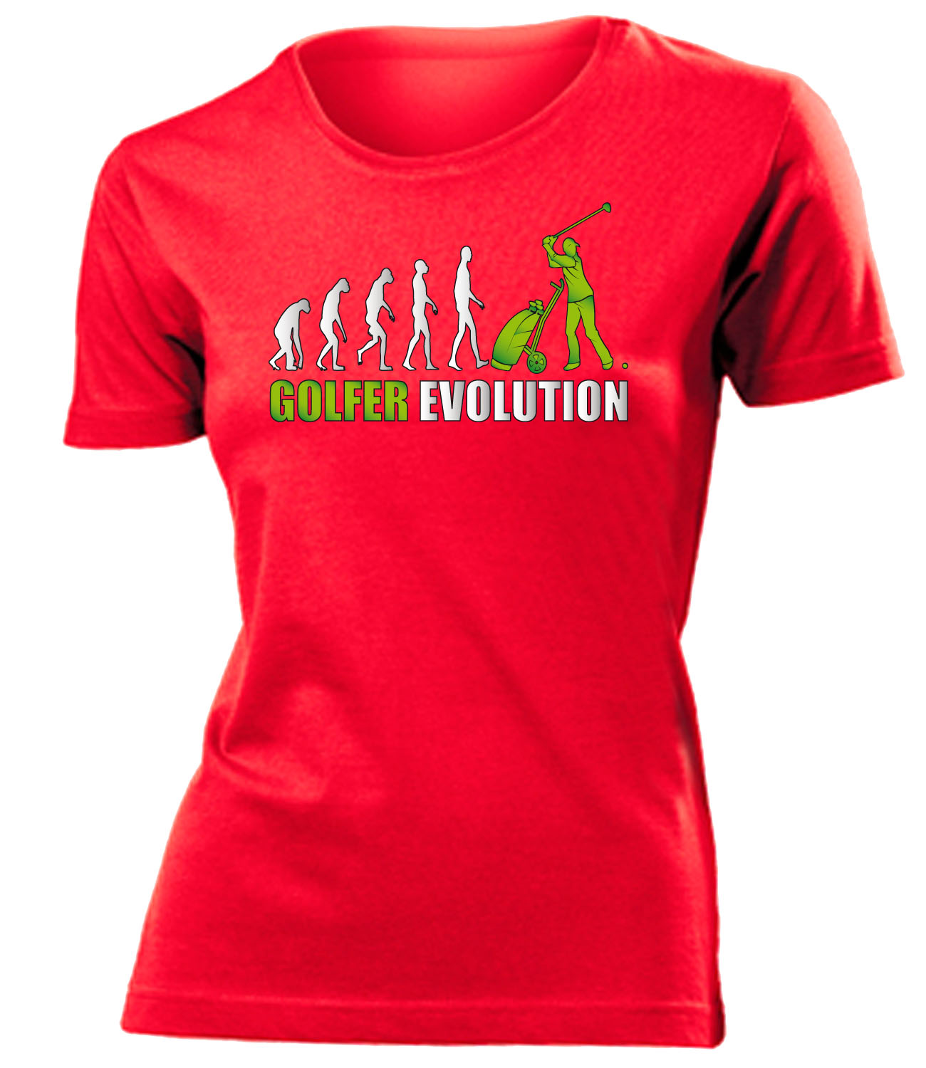 golfer evolution t shirt damen s xxl ebay. Black Bedroom Furniture Sets. Home Design Ideas