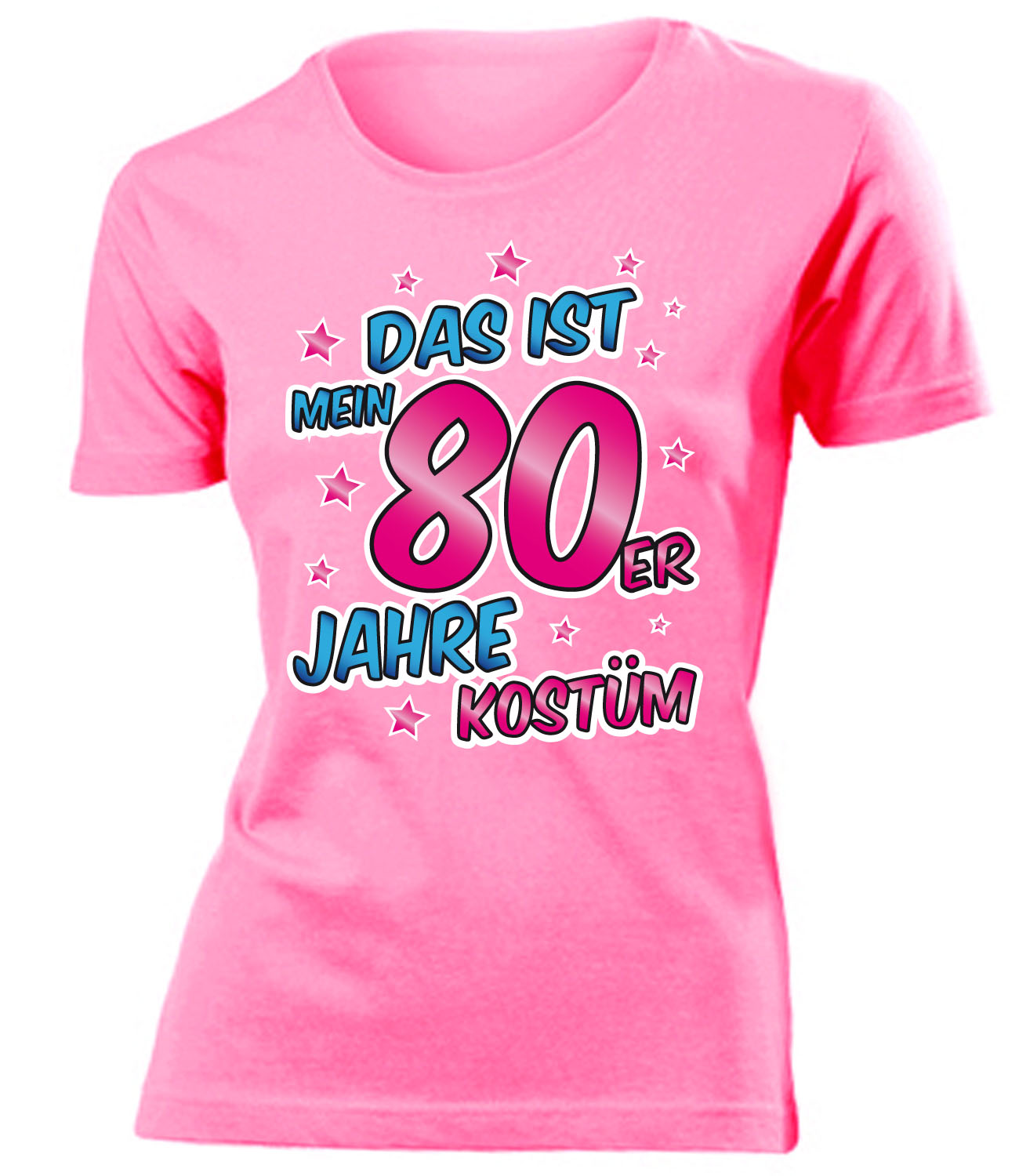 karnevalskost m das ist mein 80er jahre kost m t shirt damen s xxl ebay. Black Bedroom Furniture Sets. Home Design Ideas
