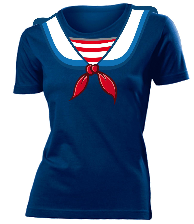 karnevalskost m matrosen kost m t shirt damen s xxl