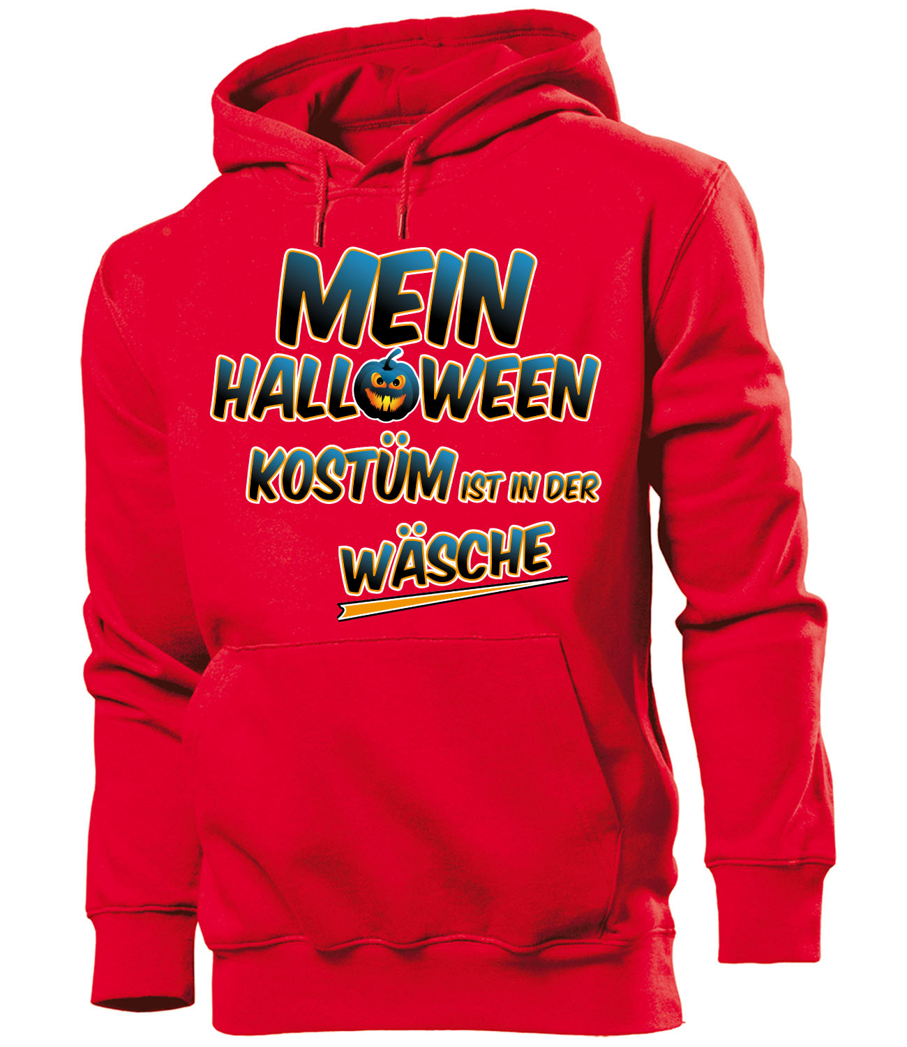 halloween mein halloween kost m ist in der w sche herren hoodie s xxl ebay. Black Bedroom Furniture Sets. Home Design Ideas