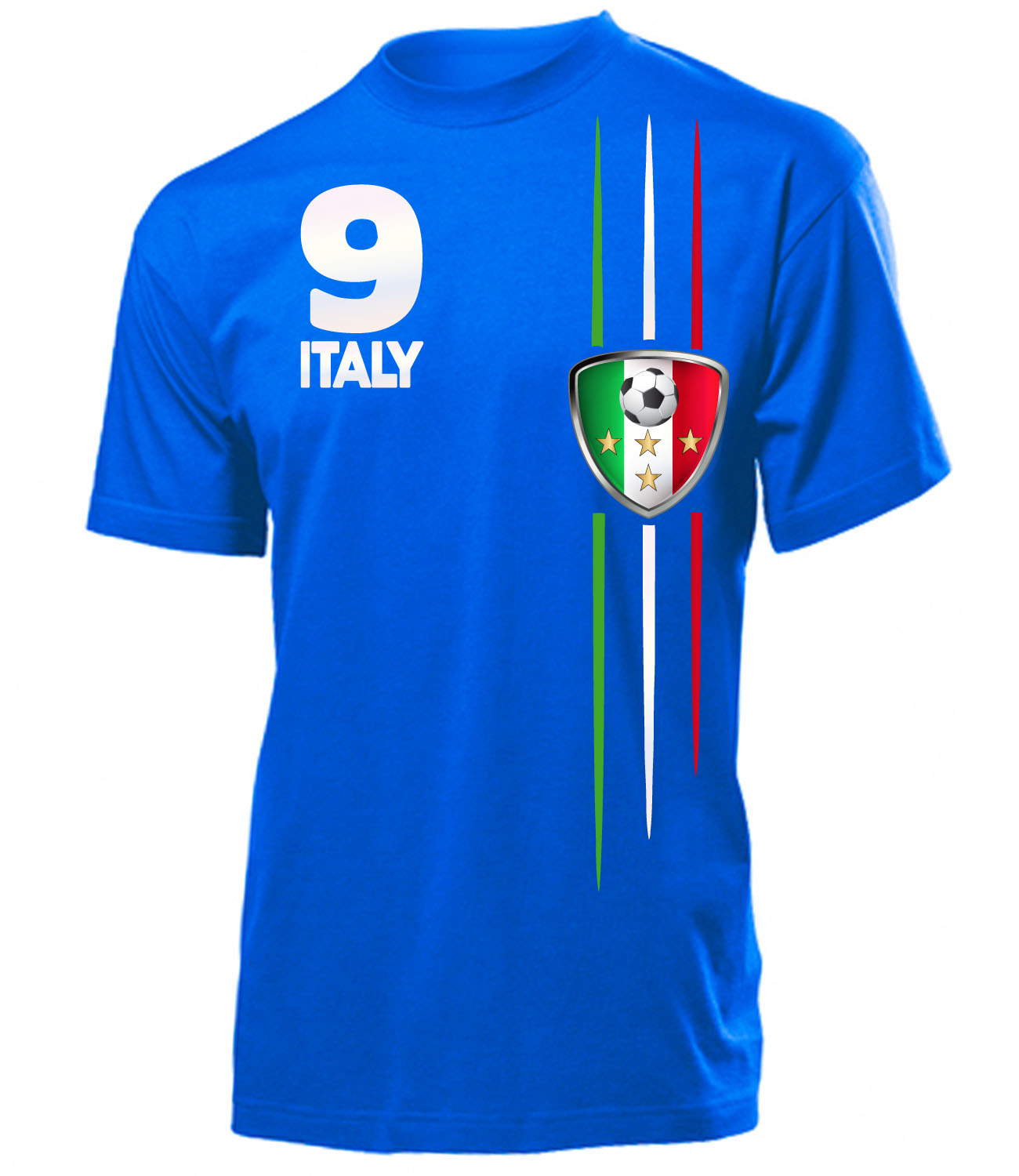 fussball fanartikel wm 2018 italien fanshirt t shirt. Black Bedroom Furniture Sets. Home Design Ideas