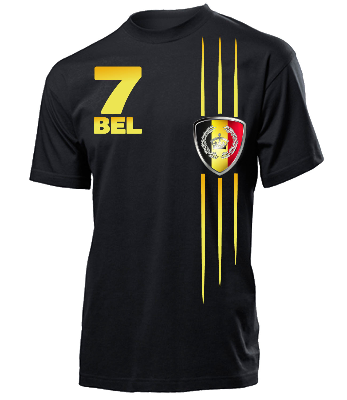 fussball fanartikel wm 2018 belgien fanshirt t shirt. Black Bedroom Furniture Sets. Home Design Ideas