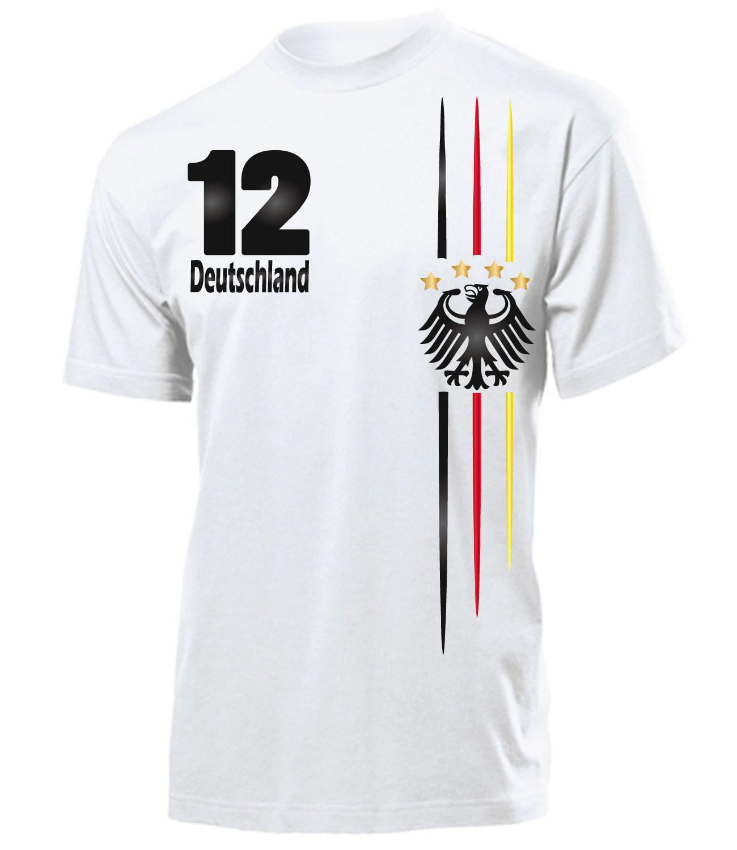 4 sterne fanshirt deutschland fussball em 2016 t shirt herren s xxl ebay. Black Bedroom Furniture Sets. Home Design Ideas