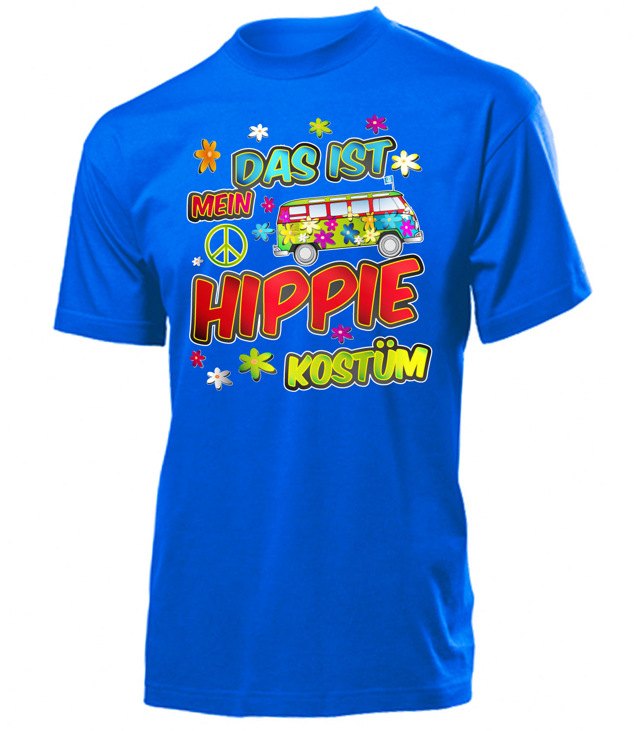 karneval fasching das ist mein hippie kost m t shirt. Black Bedroom Furniture Sets. Home Design Ideas