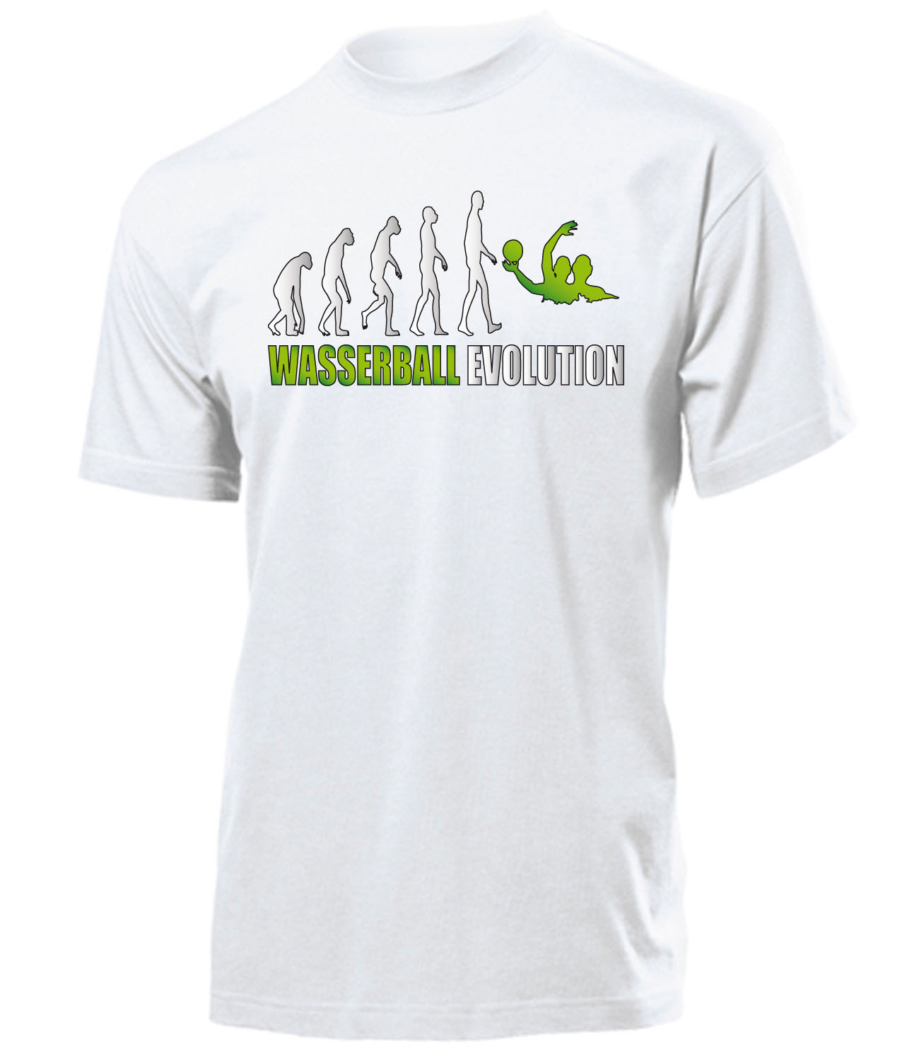 wasserball evolution t shirt herren s xxl ebay. Black Bedroom Furniture Sets. Home Design Ideas